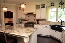 granite countertop off the shelf kitchen cabinets marble