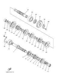 2000 yamaha blaster 200 yfs200m transmission parts best oem