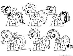 my pony friendship is magic coloring pages 28 images countess