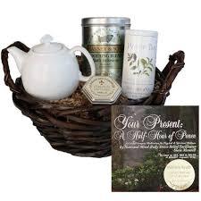 Spa Gift Basket Ideas Tea Gift Basket