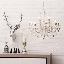 marie therese chandelier 12 light chandelier chrome from litecraft