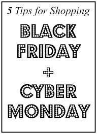black friday shopping tips 5 tips for shopping black friday cyber monday for the love of
