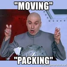 Moving On Up Meme - moving packing dr evil meme meme generator