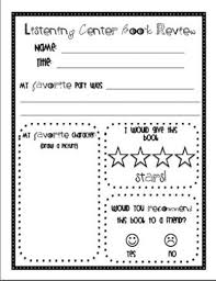 the daily five printables with franklin daily 5 listening to reading response s