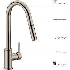 100 kitchen faucet low flow non low flow kitchen faucet
