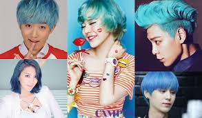 popular kpop hair colours 7 vibrant k pop idol hair colors that create a beautiful rainbow