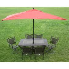 Overstock Patio Umbrella Premium 10 Rectangular Patio Umbrella Free Shipping Today