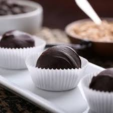 chocolate truffles with tea by baker u0027s corner via flickr