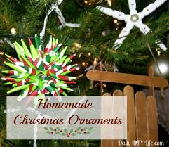 Home Made Christmas Decor Holiday Decorating Homemade Ornaments Polish Star