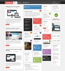 22 of the best free u0026 premium flat templates for joomla