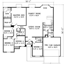 adobe southwestern style house plan 5 beds 3 00 baths 2352 sq