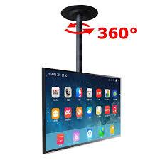 porta tv soffitto 360 gradi regolabile in altezza 32 60 soffitto supporti porta
