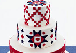 4th of july wedding cakes made with style and charm unique