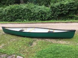 this 15 ft canadian canoe by hou is in nearly new condition 3 yrs