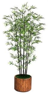 7 foot high end realistic silk bamboo tree with