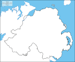 Blank Map Of Counties Of Ireland by Northern Ireland Free Maps Free Blank Maps Free Outline Maps