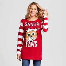 sweater target s santa paws tunic sweater