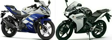 cbr 150rr price in india yamaha r15 v2 0 vs honda cbr 150r compare turbozens