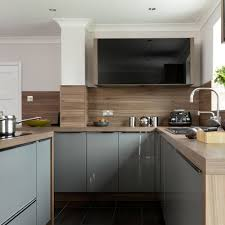 light grey kitchen with oak cabinets grey kitchen ideas 28 decor and design tips using shades