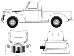 chevrolet clipart ford pickup pencil and in color chevrolet