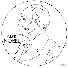 alfred nobel coloring page free printable coloring pages