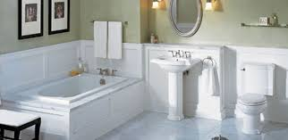 how to design easy clean bathroom