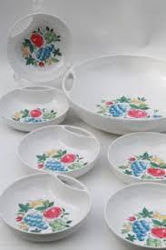 vintage melmac and melamine dishes