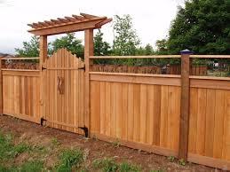 Backyard Gate Ideas Wood Gate Ideas Garden Design