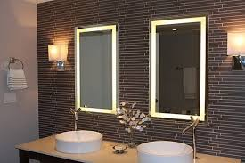 Contemporary Vanity Mirrors Bathroom Deco Mirrors Large Bathroom Wall Mirror Large