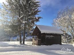 linge de lit style chalet montagne location chalet à les gets iha 21978