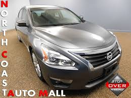 grey nissan altima 2015 used nissan altima 4dr sedan v6 3 5 sl at north coast auto