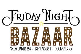 friday night bazaar denver rock drill holiday shopping