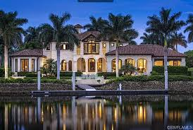 mediterranean home builders 15 9 million mediterranean waterfront mansion in naples fl