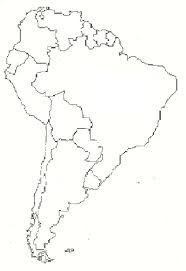 outline of south america map best photos of printable map south america south america