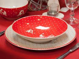 cocotte cuisine assiette creuse grès ronde poules beige 22cm lot de 6