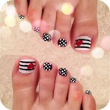 Toe And Nail Designs 45 Best Polka Dots Toe Nail Design Ideas