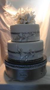 silver wedding cake stand 12 metallic silver wedding cake stand