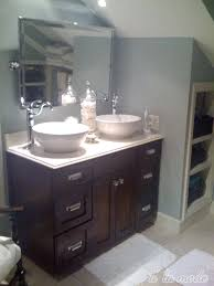Modern Bathroom Vanities With Tops by Favored White Like Porcelain Glass Vanity Top With 2 Bowl Sink And