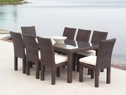 wicker patio dining sets lloydflanders contempo outdoor