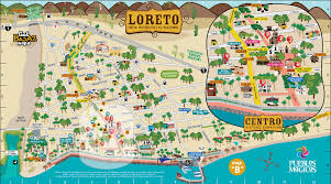 Baja Map Islands Of Loreto Bay Kayak Tour Sea Kayak Adventures