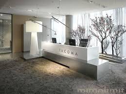 Concrete Reception Desk Desk Modern Reception Counter Design Ideas Receptionist Desk