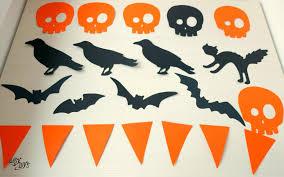 easy diy halloween garland easy diys