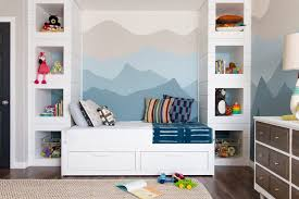ombré mountain nursery design by numbers