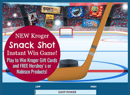 instant win gift cards kroger snack instant win play to win kroger gift cards
