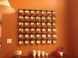 pinterest coffee mug shelves coffee mug rack diy for the home