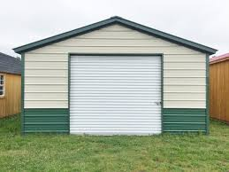 steel garage workshop fully enclosed metal building 18x21x8 free