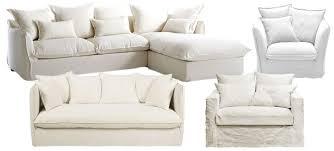 fauteuil et canapé canapé blanc et fauteuil blanc 25 modèles à prix doux joli place
