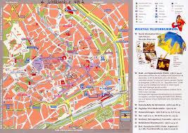 Weimar Germany Map by Erfurt Tourist Map Erfurt Germany U2022 Mappery