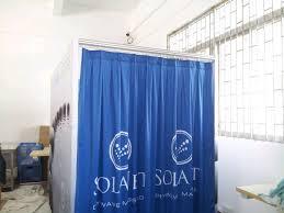 portable dressing room curtain