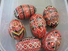 pysanky for sale theresa somerset batik yolk and regular brown chicken eggs